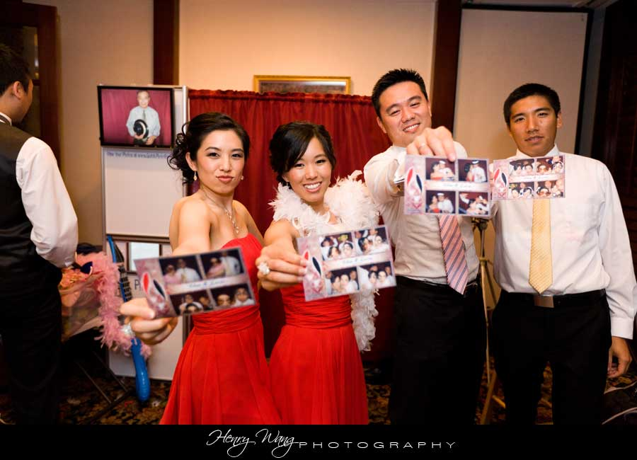 Cerritos Wedding Reception Photo Booth Prince Seafood Restaurant